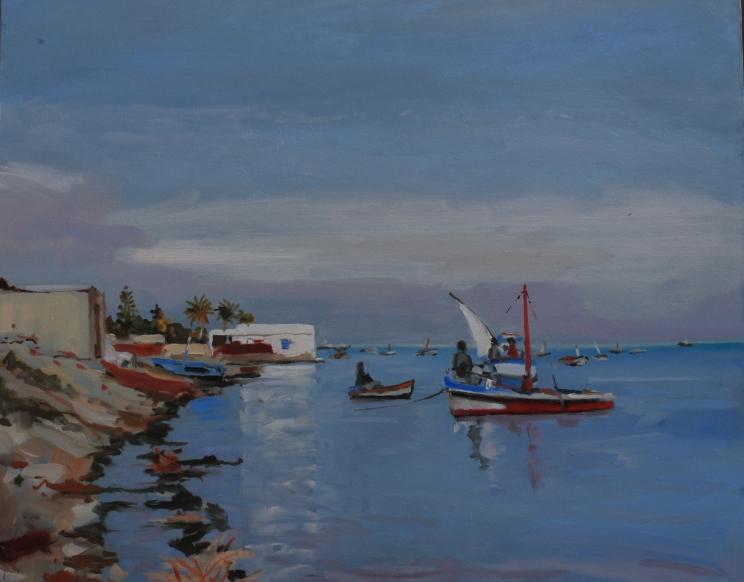 Bord de mer vers Sfax