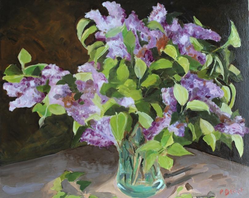 Bouquet de Lilas TsP 15F (65 x 54 cm) 2012