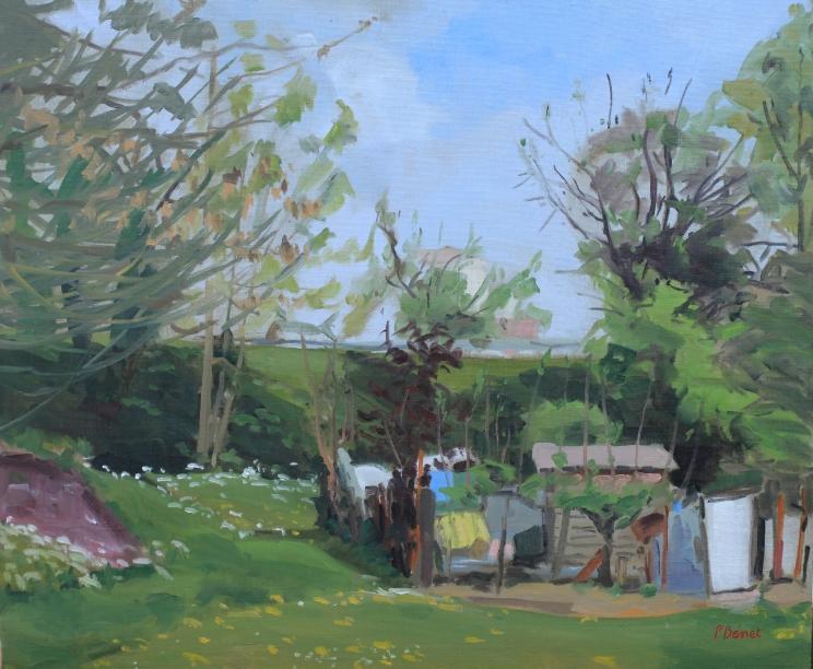 Jardins familiaux de la Poterne à Lille 15F