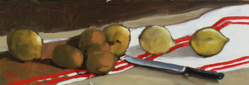 Kiwis et citrons TsP 0S (61 x 21 cm) 2015