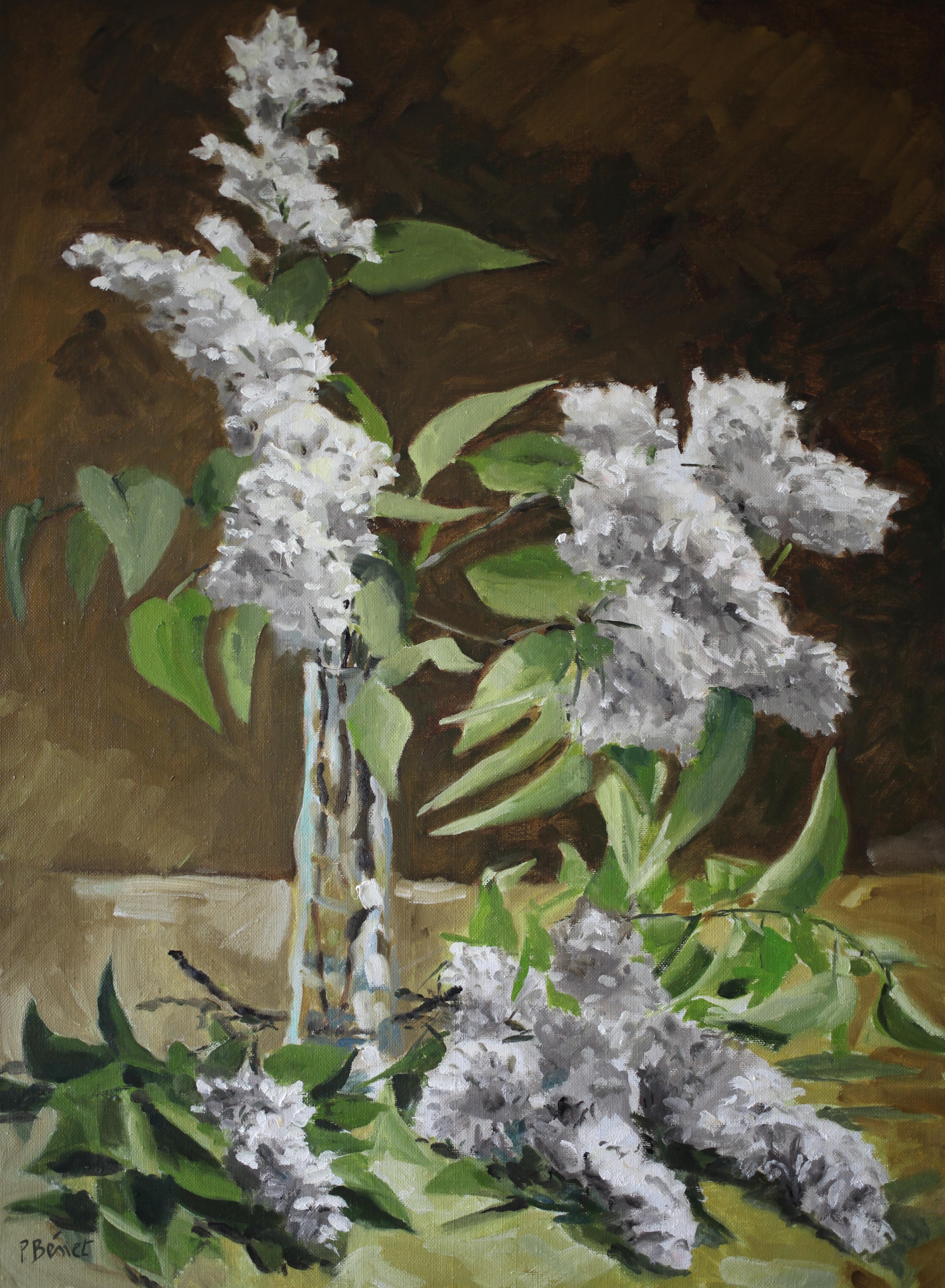 Le lilas blanc    TsC 20P (73 x 54 cm) 2013