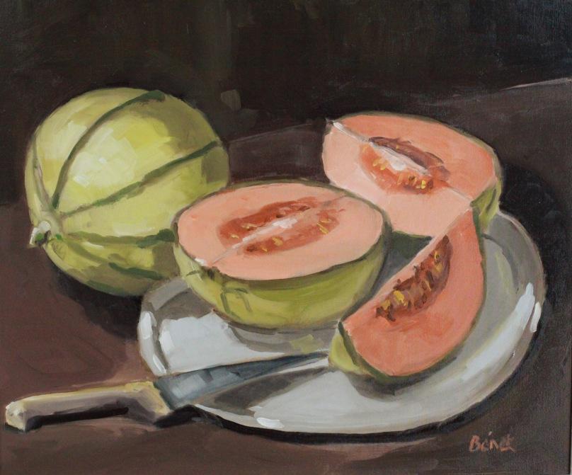 Melons    TsP 10F (55 x 46 cm) 2015