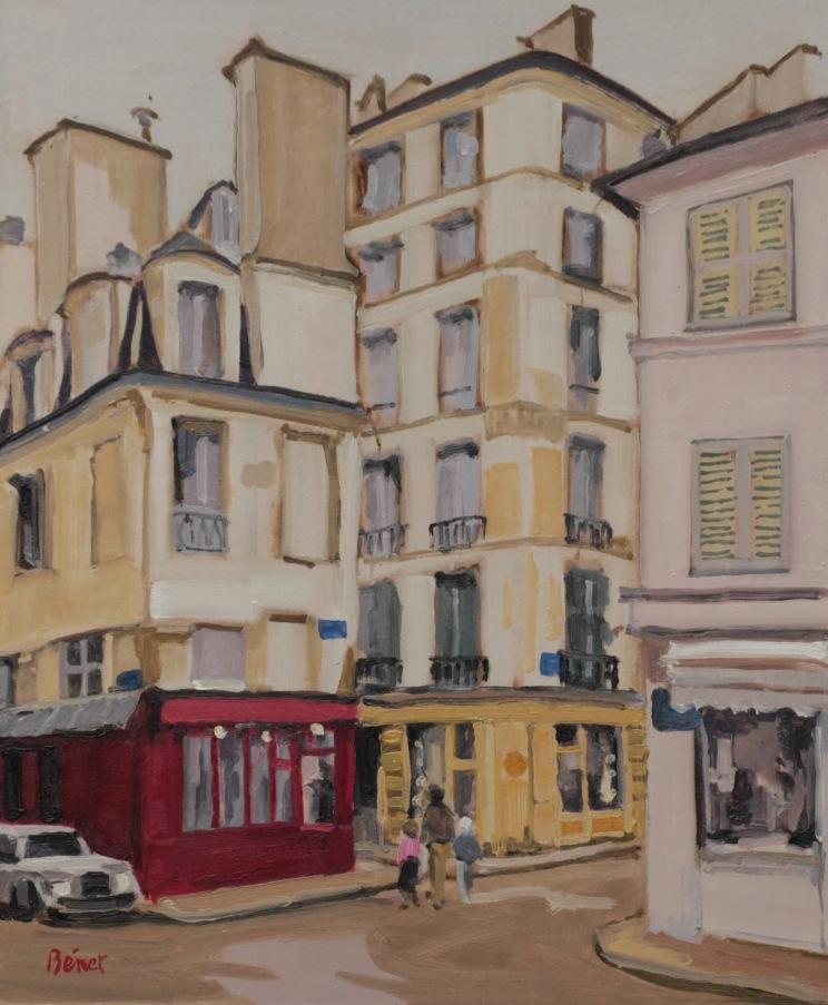 Rue de la petite boucherie TsP 8F (46 x 38 cm) 2014
