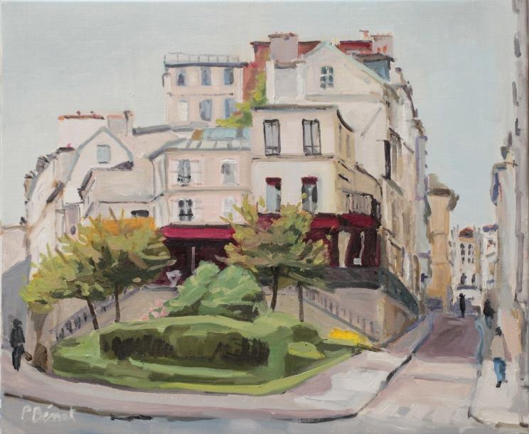 Rue Tournefort TsC 10F (55 x 46 cm) 2014
