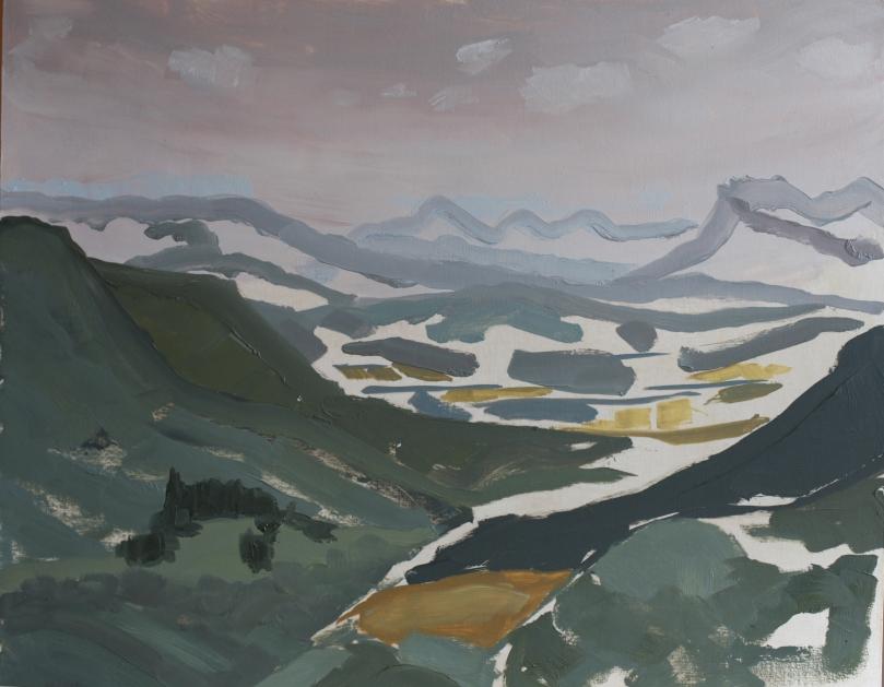 Lointains, vallée du Rhone