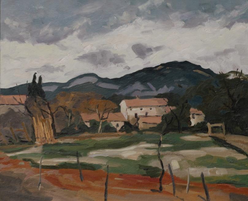 Saint-Hippolyte Comtat Venaissin copie de Paul Surtel 8F (46 x 38 cm) 2014