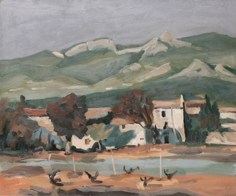 Saint-Hippolyte, copie de Paul Surtel 8F (46 x 38 cm) 2014