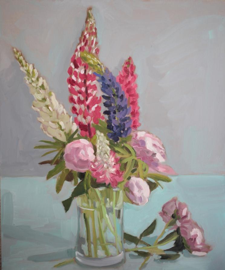 Bouquets de fleurs patrick benet peintre Fleurs pivoines