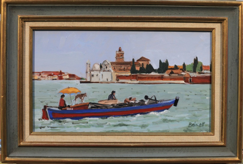 Venise, sur la lagune oil painting PBenet