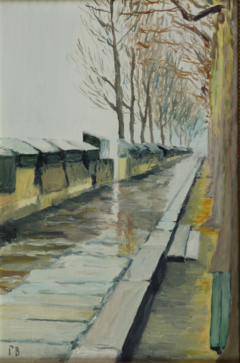 Quai Malaquais Paris oil painting PBenet
