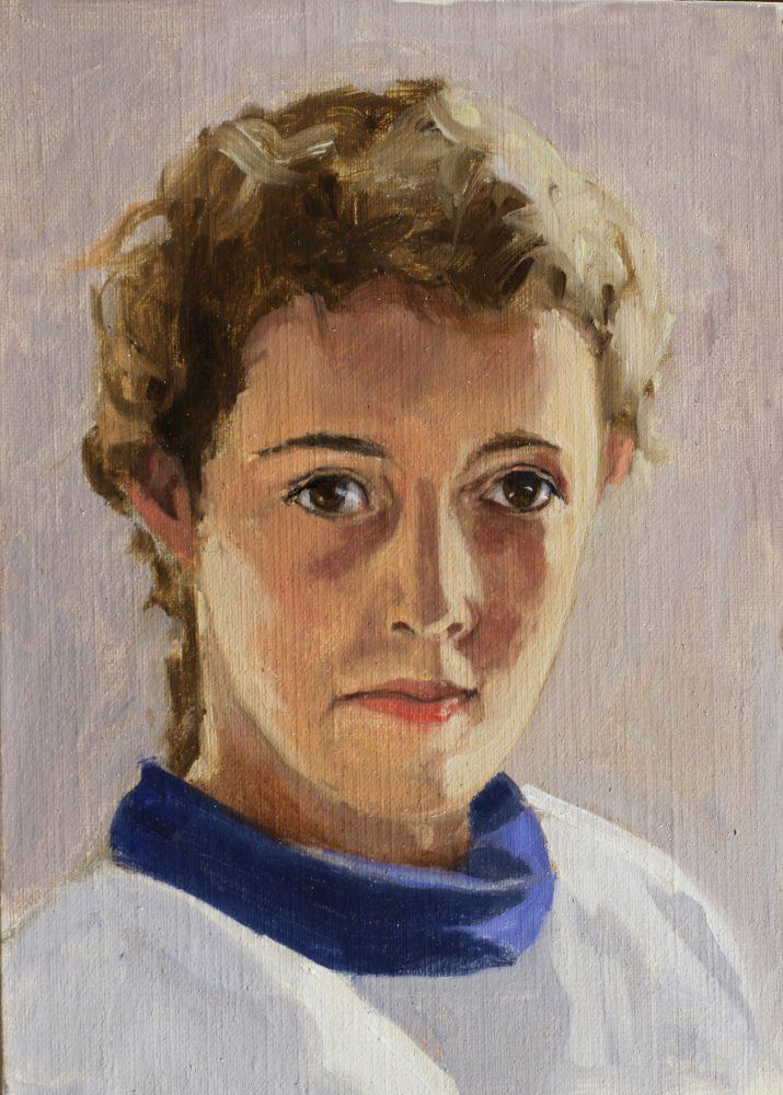 portrait d'enfant oil painting PBenet